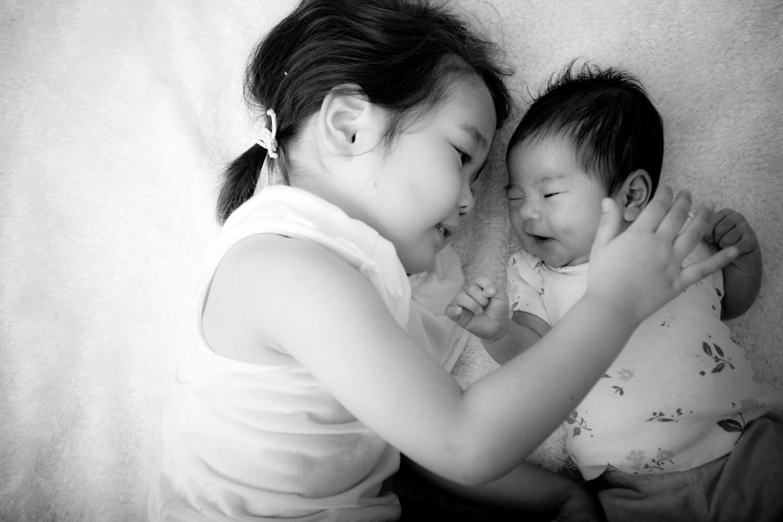生後1ヶ月ベビーフォト