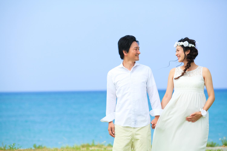 マタニティフォト沖縄旅行